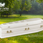 Burial, Valentino White Solid Wood